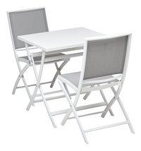 Ocean Table pliante Shiko blanc L 70 x Lg 70 cm-Détail de l'article