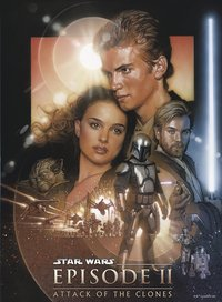 Ravensburger puzzel Disney Star Wars Attack of the clones-Vooraanzicht