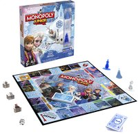 Monopoly Junior Disney La Reine des Neiges-Avant