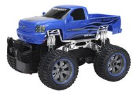 New Bright auto RC Jeep Silverado blauw