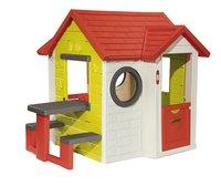 Smoby speelhuisje My house met picknickmodule-Rechterzijde