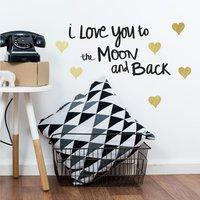 Muursticker RoomMates Love you to the Moon-Afbeelding 3