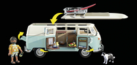 PLAYMOBIL VW 70826 Volkswagen T1 Campingbus - Special Edition-Afbeelding 1