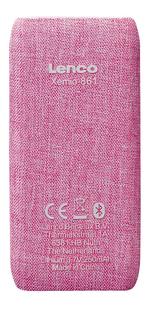 Lenco mp4-speler Xemio-861 BT 8 GB roze-Achteraanzicht