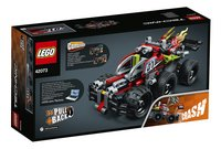 LEGO Technic 42073 BASH!-Achteraanzicht