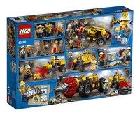 LEGO City 60186 Zware mijnbouwboor-Achteraanzicht