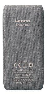 Lenco lecteur MP4 Xemio-861 BT 8 Go gris-Arrière