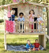 Dutchwood houten speelhuisje-Afbeelding 1