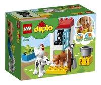 LEGO DUPLO 10870 Boerderijdieren-Achteraanzicht