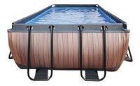 EXIT zwembad Wood 4 x 2 m-Vooraanzicht