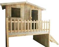 Dutchwood houten speelhuisje-Linkerzijde