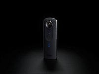 Ricoh digitaal fototoestel Theta S 360° zwart-Afbeelding 1
