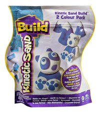 Spin Master Kinetic Sand Build 2 Colour Pack blanc/bleu