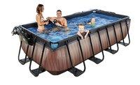EXIT zwembad Wood met overkapping 4 x 2 m-Afbeelding 2