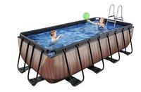EXIT zwembad Wood met zandfilter 4 x 2 m-Afbeelding 2