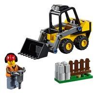 LEGO City 60219 Bouwlader-Vooraanzicht