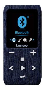 Lenco lecteur MP4 Xemio-861 BT 8 Go bleu-Avant