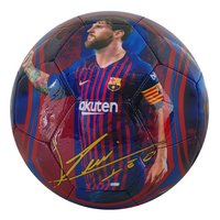 Ballon de football FC Barcelona Lionel Messi taille 5-Côté droit