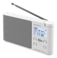 Sony radio DAB XDR-S41D blanc-Côté droit