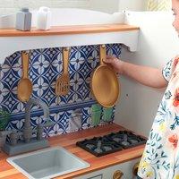 KidKraft cuisine en bois Mosaic Magnetic Play-Détail de l'article