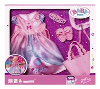 BABY born kledijset Boutique Deluxe Shopping Prinses-Vooraanzicht