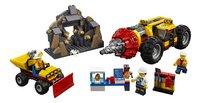 LEGO City 60186 Zware mijnbouwboor-Vooraanzicht