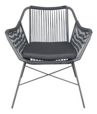 Chaise de jardin Mallow lounge anthracite