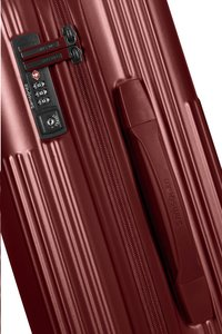 Samsonite harde reistrolley Rectrix Spinner Matte Red 55 cm-Artikeldetail