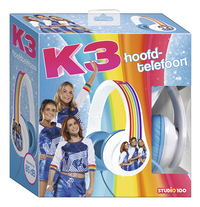 K3 hoofdtelefoon wit-Linkerzijde