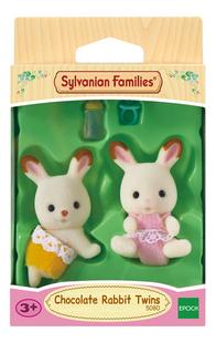 Sylvanian Families 5080 - Jumeaux Lapin Chocolat-Avant