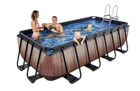 EXIT zwembad Wood 4 x 2 m-Afbeelding 1