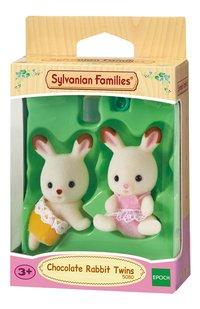 Sylvanian Families 5080 - Jumeaux Lapin Chocolat-Côté droit