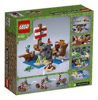 LEGO Minecraft 21152 Avontuur op het piratenschip-Achteraanzicht