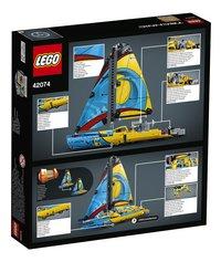 LEGO Technic 42074 Racejacht-Achteraanzicht