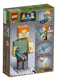 LEGO Minecraft 21149 BigFig Alex met kip-Achteraanzicht