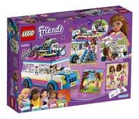 LEGO Friends 41333 Olivia's missievoertuig-Achteraanzicht