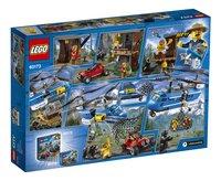 LEGO City 60173 Bergarrestatie-Achteraanzicht