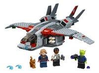 LEGO Super Heroes 76127 Captain Marvel De aanval van de Skrulls-Vooraanzicht