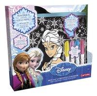 Lansay Mon sac lumineux à colorier Disney La Reine des Neiges-Côté gauche