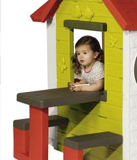 Smoby speelhuisje My house met picknickmodule-Afbeelding 4