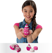 Spin Master Kinetic Sand Build 2 Colour Pack rose/blanc-Image 1