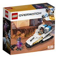 LEGO Overwatch 75970 Tracer vs. Widowmaker-Achteraanzicht
