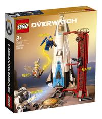LEGO Overwatch 75975 Watchpoint: Gibraltar-Achteraanzicht