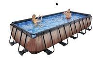 EXIT piscine Wood filtre à sable 5,40 x 2,50 m-Image 1
