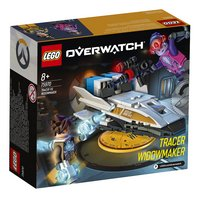 LEGO Overwatch 75970 Tracer vs. Widowmaker-Linkerzijde