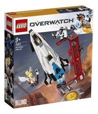 LEGO Overwatch 75975 Watchpoint: Gibraltar-Linkerzijde