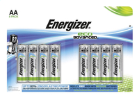 Energizer 8 piles AA Eco Advanced