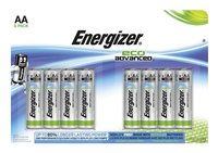 Energizer 8 AA-batterijen Eco Advanced