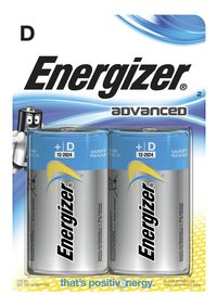 Energizer 2 piles D Advanced