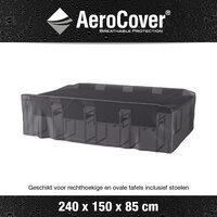 AeroCover beschermhoes voor tuinset L 240 x B 150 x H 85 cm polyester-Afbeelding 1